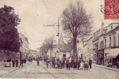 carte-postale-colombes-la-place-de-la-mairie