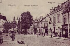 carte-postale-rue-de-paris-la-mairie-et-la-place