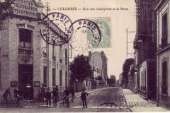 carte-postale-colombes-rue-des-aubepines-et-la-poste