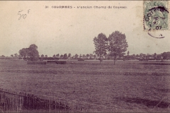 Carte postale - L'ancien champ de course de Colombes.