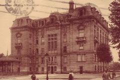 carte-postale-colombes-hotel-de-ville-et-kiosque