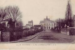 carte-postale-colombes-rue-hotel-de-ville
