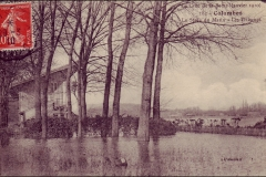 carte-postale-inondation-1910-tribunes-stade-colombes