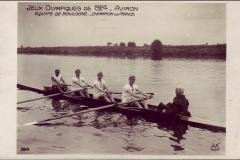 Carte postale Jeux Olympique 1924 - Aviron