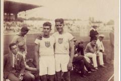 Carte postale Jeux Olympique 1924 - Barnes et Graham.
