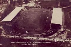 Carte postale - Vue générale du Stade Olympique de Colombes en 1924.