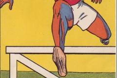 Jeux Olympiques de Paris 1924 - Carte postale Pautauberge - Course de Haie.