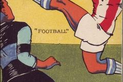Jeux Olympiques de Paris 1924 - Carte postale Pautauberge - Football.