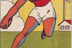 Jeux Olympiques de Paris 1924 - Carte postale Pautauberge - Lancement du disque.