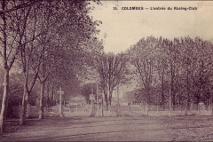 Carte postale - L'entrée du Racing Club.