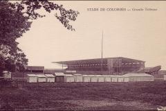 Carte postale - Stade de Colombes Grande tribune.