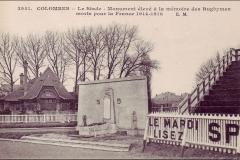 Carte postale - Monument aux rugbymens morts pendant la guerre 14-18.