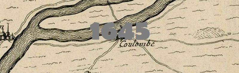 Plan du territoire de Paris et sa Banlieue en 1645.