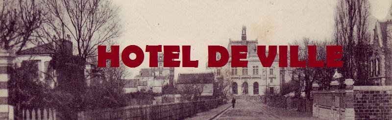 L'Hôtel de Ville de Colombes.