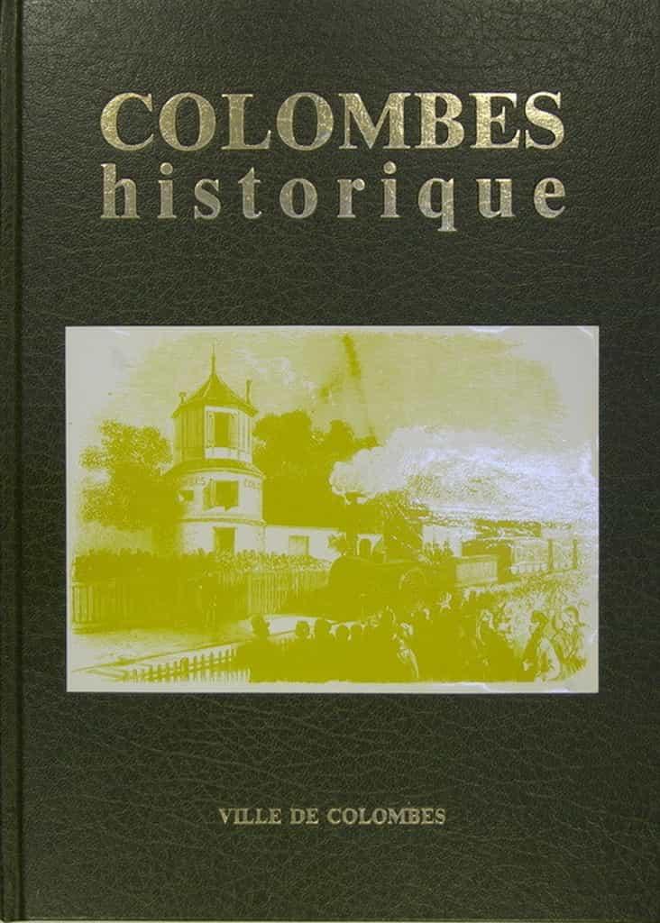 Livre - Colombes historique.
