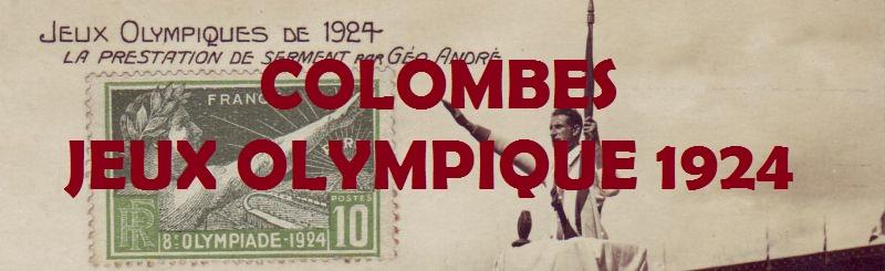Colombes et son stade à l'heure des Jeux Olympiques - 1924.